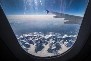 góry, dolina Aosty samolotem, narty